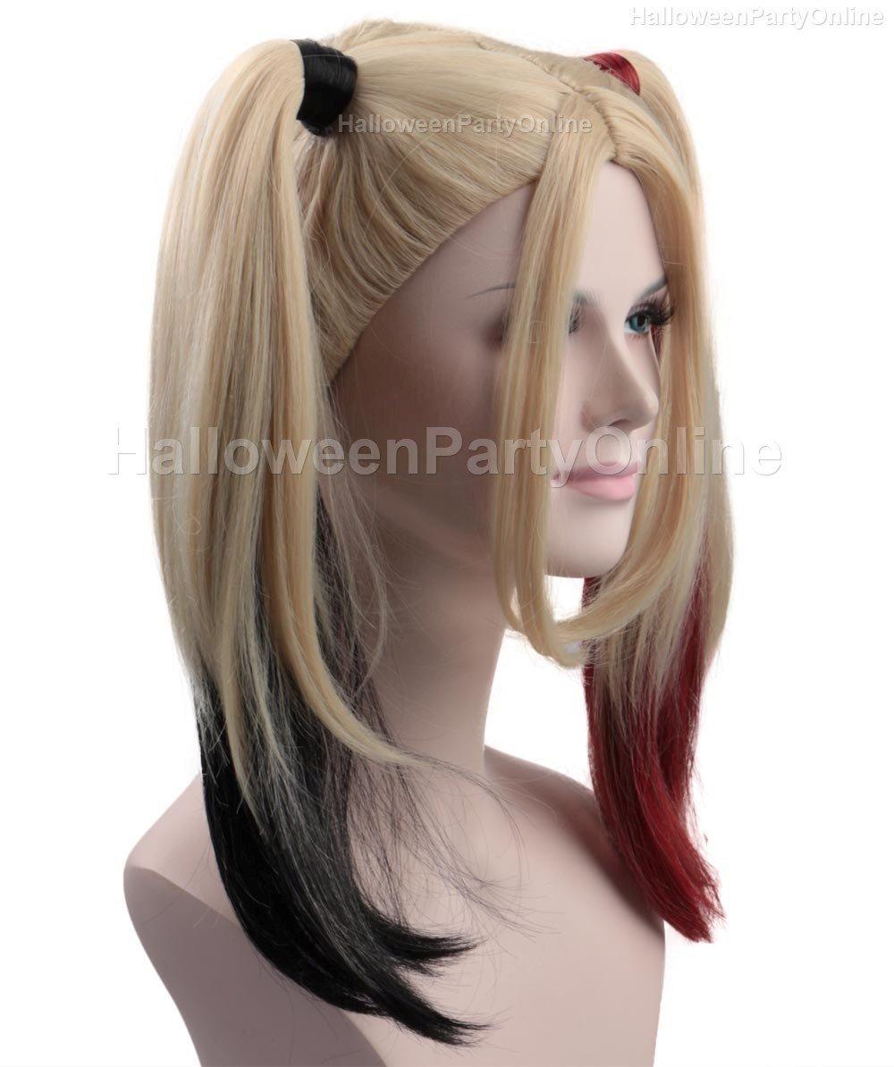 (1-2 Days Dispatch) Wig for Cosplay Arkham Quinn HW-157