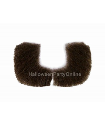 Halloween Party Costume Sideburn HB-301 Brown #6