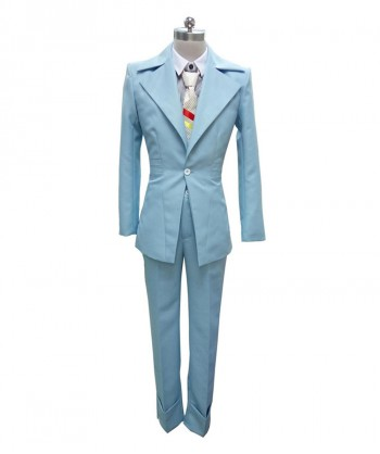 Halloween Party Costume (1-2 Days Dispatch) EXCLUSIVE! Men's Deluxe Costume for Cosplay Singer Bowie HC-002