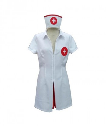 Halloween Party Costume (1-2 Days Dispatch) Say Ahhh! Adult Sexy Nurse Costume HC-005