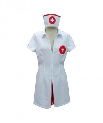 Halloween Party Costume (1-2 Days Dispatch) Say Ahhh! Adult Sexy Nurse Costume HC-005