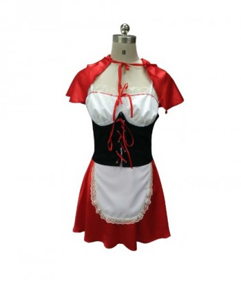 Halloween Party Costume Red Hot Riding Hoody Costume HC-011