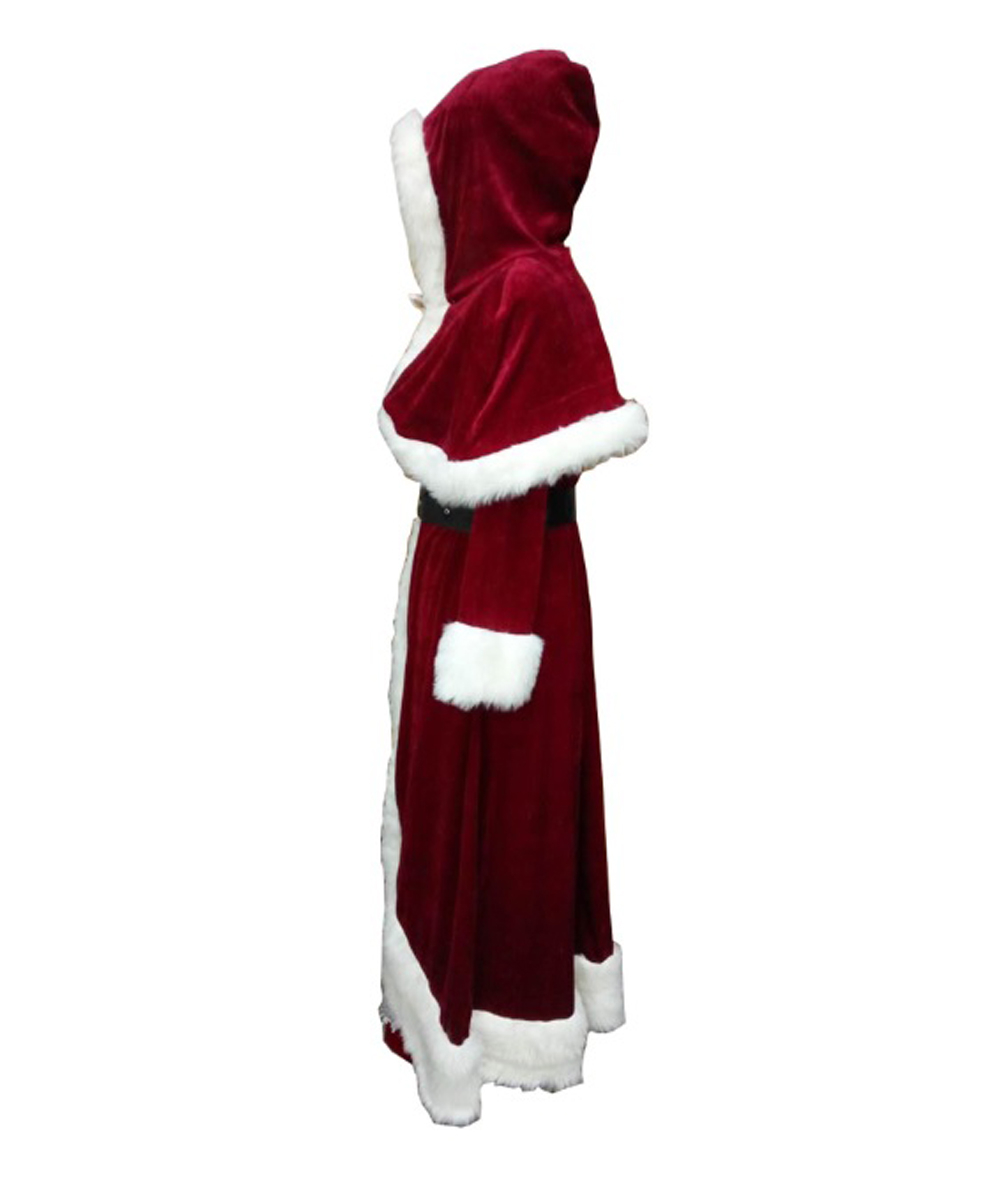 (1-2 Days Dispatch) Deluxe Classic Mrs. Santa Claus Costume HC-023