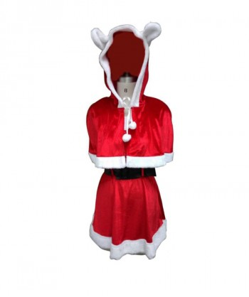 Halloween Party Costume Miss Sexy Santa Claus Costume HC-026