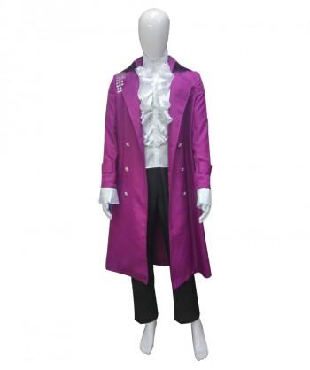Halloween Party Costume Adult Men's Costume for Cosplay Prince Purple Rain HC-038
