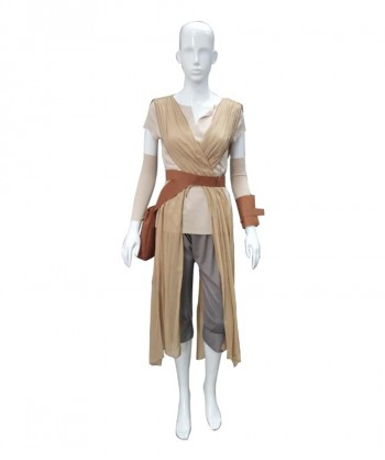Halloween Party Costume (1-2 Days Dispatch) Adult Women's Costume for Cosplay Star Wars Force Awakens Rey HC-048