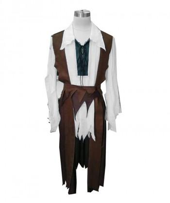 Halloween Party Costume Adult Men's Costume Pirate Captain HC-053