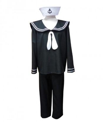 Halloween Party Costume Adult Men's Costume Navy Sailor HC-057