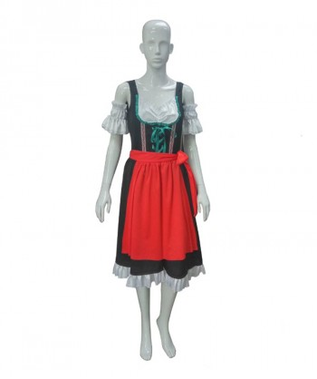 Halloween Party Costume Oktoberfest Fraulein Costume HC-069