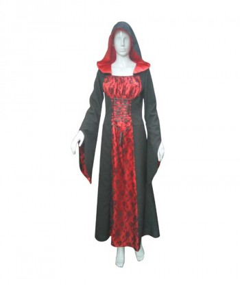 Halloween Party Costume Adult Women's Deluxe Vampiress Costume  HC-116