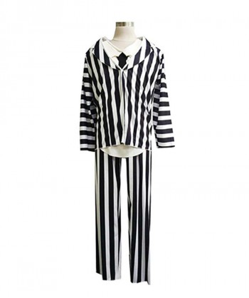 Halloween Party Costume Adult Men's Costume for Cosplay Beetlejuice HC-135