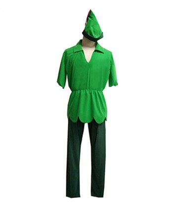 Halloween Party Costume Adult Men's Costume for Cosplay Peter Pan HC-142