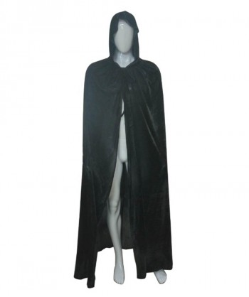 Halloween Party Costume Adult Men's Grim Reaper Hooded Cape Costume HC-183