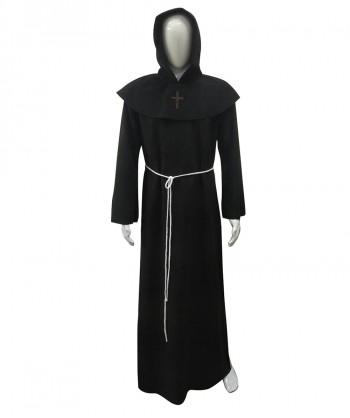 Halloween Party Costume Adult Men's Monk Robe Costume HC-185