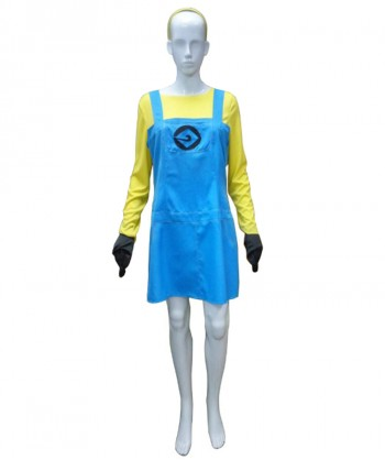 Halloween Party Costume Adult Women's Costume for Cosplay Despicable Me 3 Minions HC-211