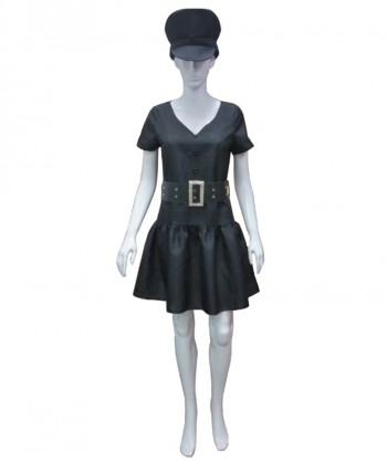 Halloween Party Costume Adult Women's Police Officer Costume HC-222