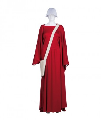Halloween Party Costume Adult Women's Red Handmaid Full Set Costume HC-233
