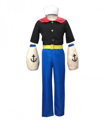 Halloween Party Costume Adult Men's Sailor Captain Costume HC-255