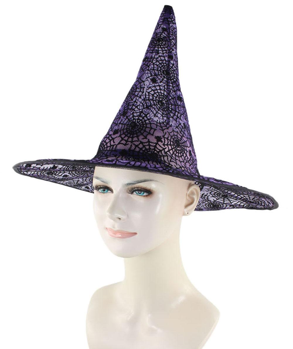 Purple & Black Witch Hat HA-002