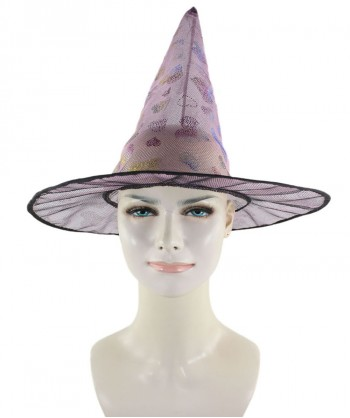 Halloween Party Costume Pink Sweetheart Witch Hat HA-003