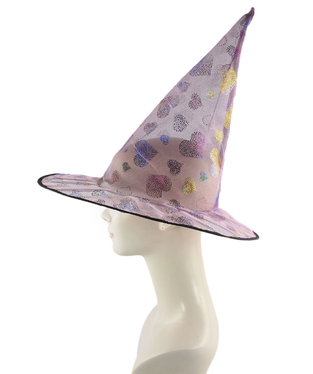 Pink Sweetheart Witch Hat HA-003