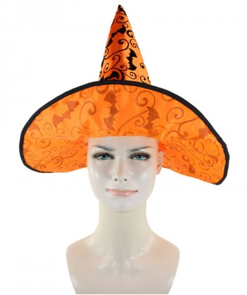 Halloween Party Costume Orange Witch Hat HA-004