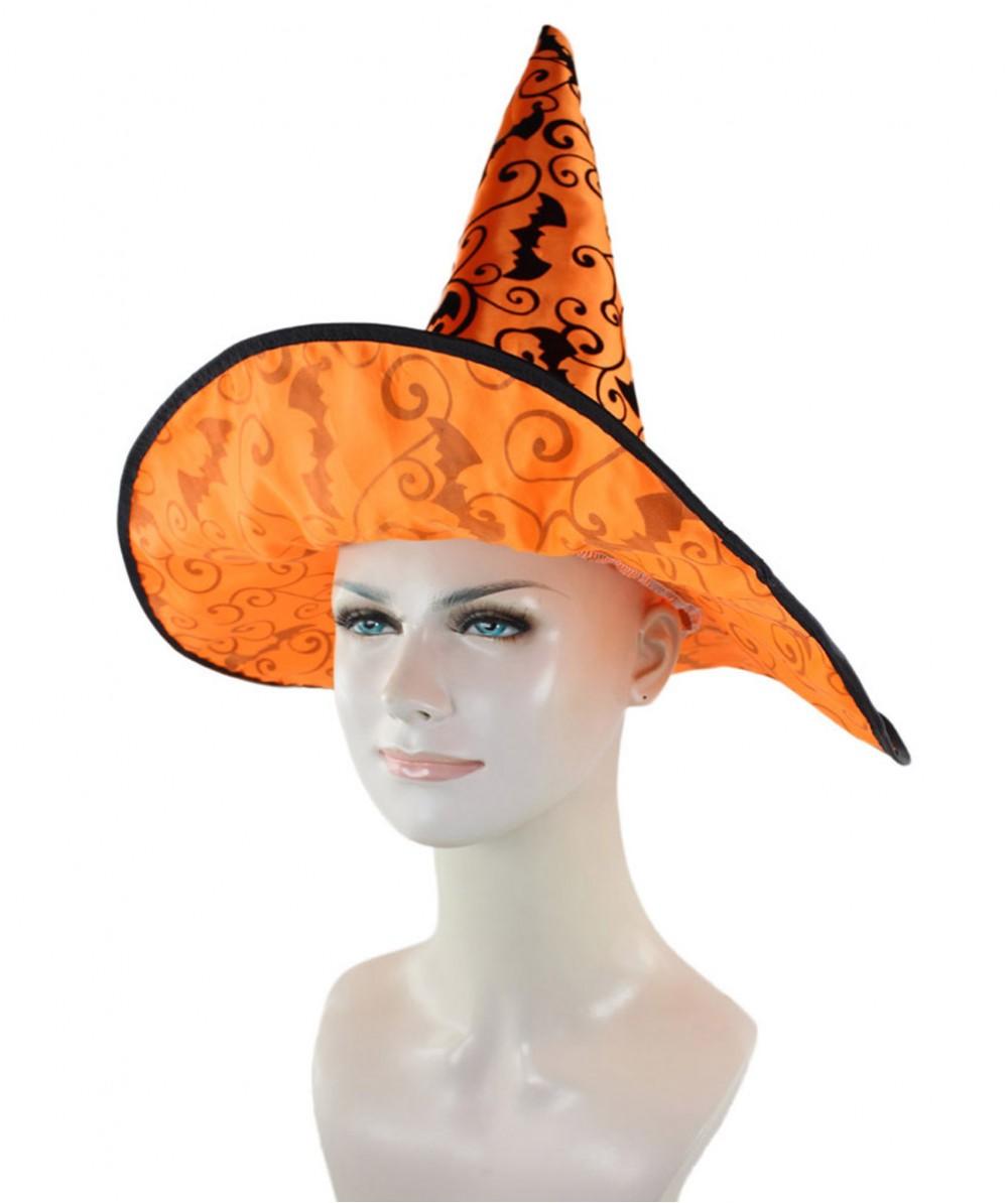 Orange Witch Hat HA-004