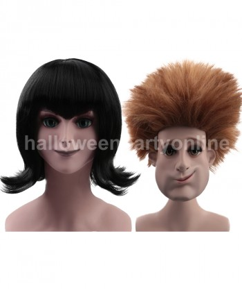 Halloween Party Costume Wig for Cosplay Transylvania - Johnny Wig HM-046 + Mavis Wig HW-162