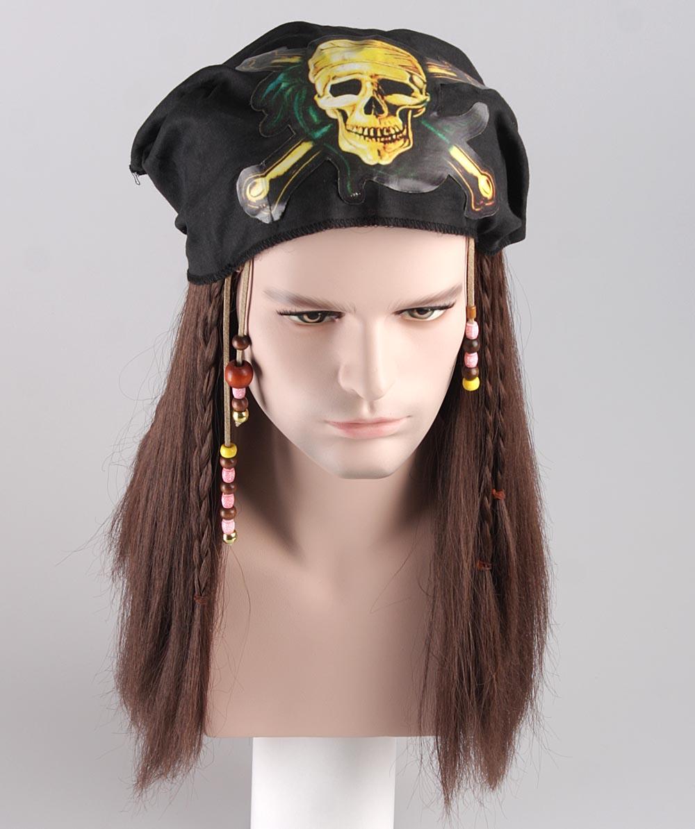 Pirate Johnny Wig HM-002