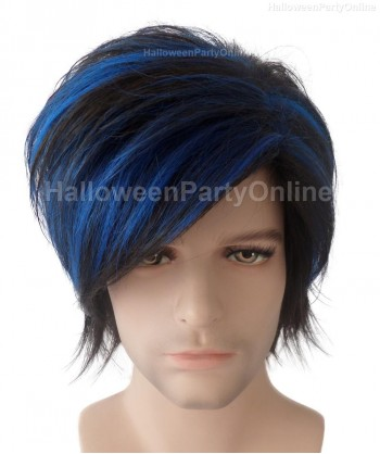 Halloween Party Costume Wig for Cosplay Nightcrawler HM-059