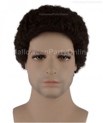 Halloween Party Costume Wig for Cosplay Stork Dark Brown HM-071
