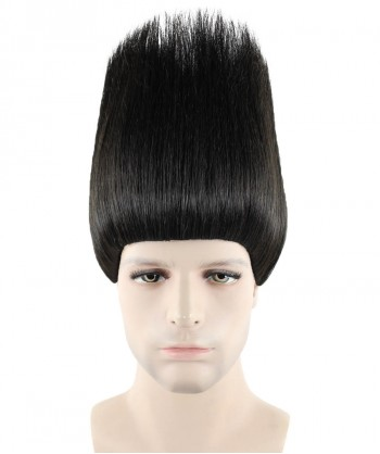 Halloween Party Costume (1-2 Days Dispatch) Wig for Cosplay Troll Black HM-080