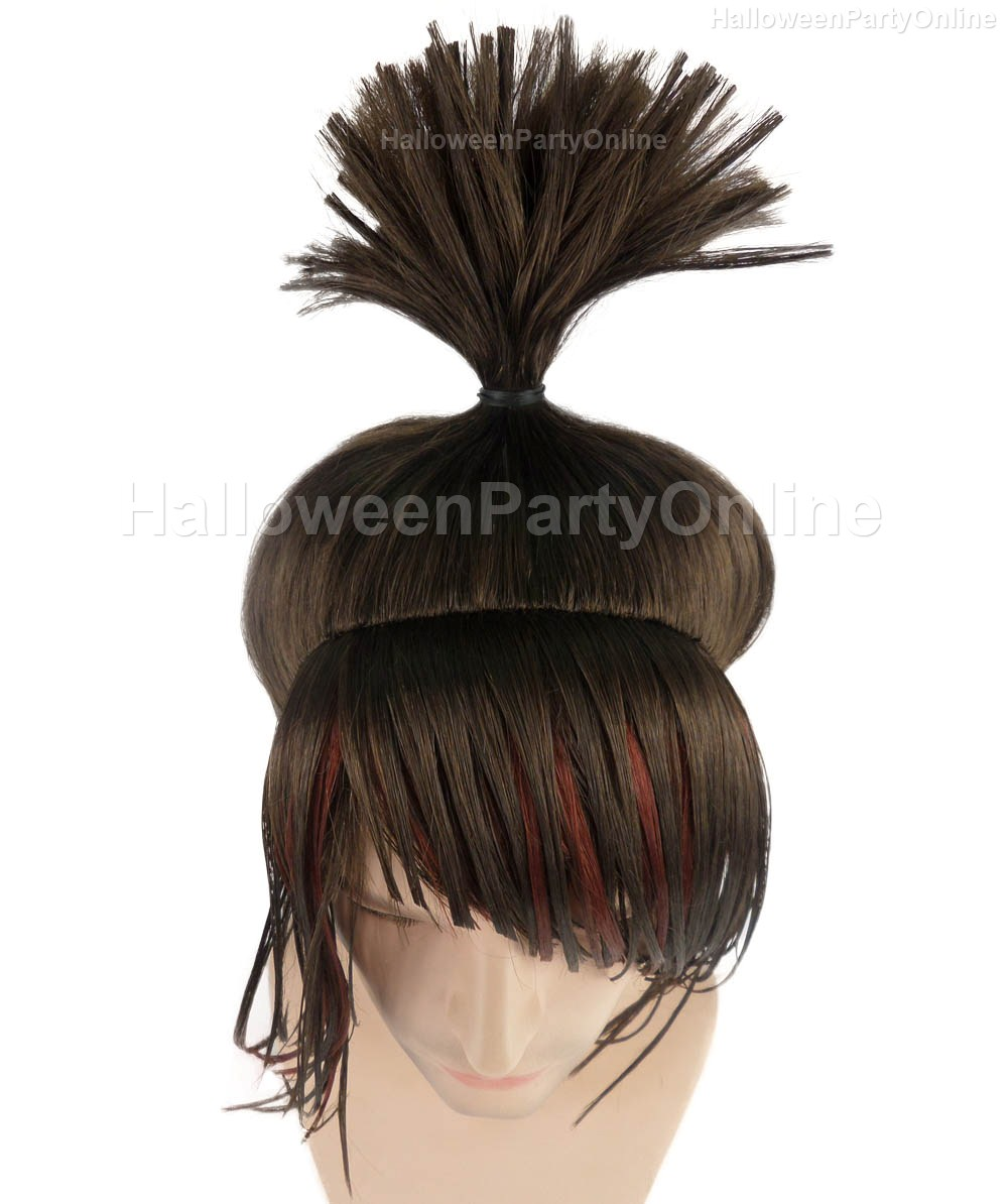 Wig for Cosplay Kubo Ninja Black Wig HM-083