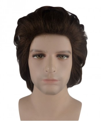 Halloween Party Costume 70s Brown Wig HM-102