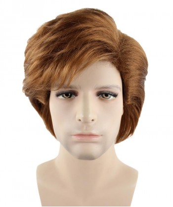 Halloween Party Costume (1-2 Days Dispatch) Exclusive! 80's George Michael Style Fancy Dress Wig HM-121