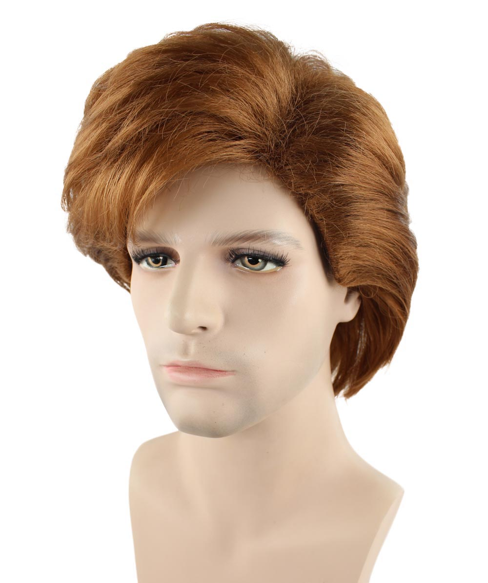 (1-2 Days Dispatch) Exclusive! 80's George Michael Style Fancy Dress Wig HM-121