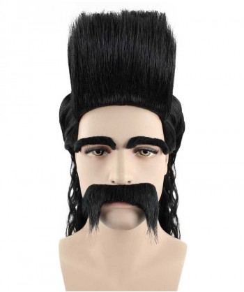 Halloween Party Costume (1-2 days dispatch) Wig for Cosplay Despicable Me 3 - Balthazar Bratt Style HM-122