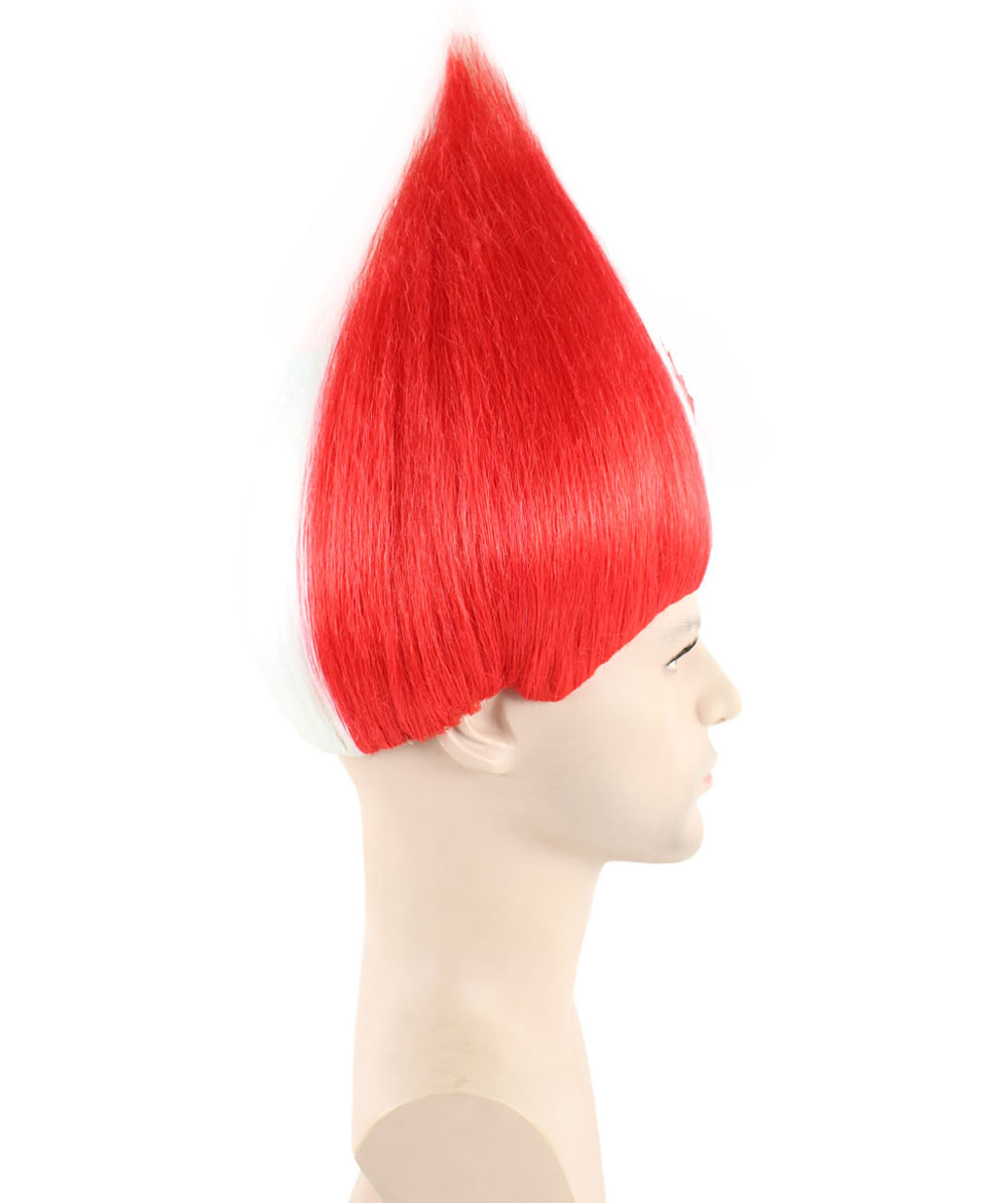 (1-2 Days Dispatch) Canada National Flag Troll Wig, HM-125
