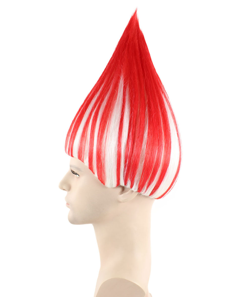 (1-2 Days Dispatch) USA National Flag Troll Wig, HM-132