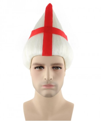 Halloween Party Costume England National Flag Troll Wig, HM-136