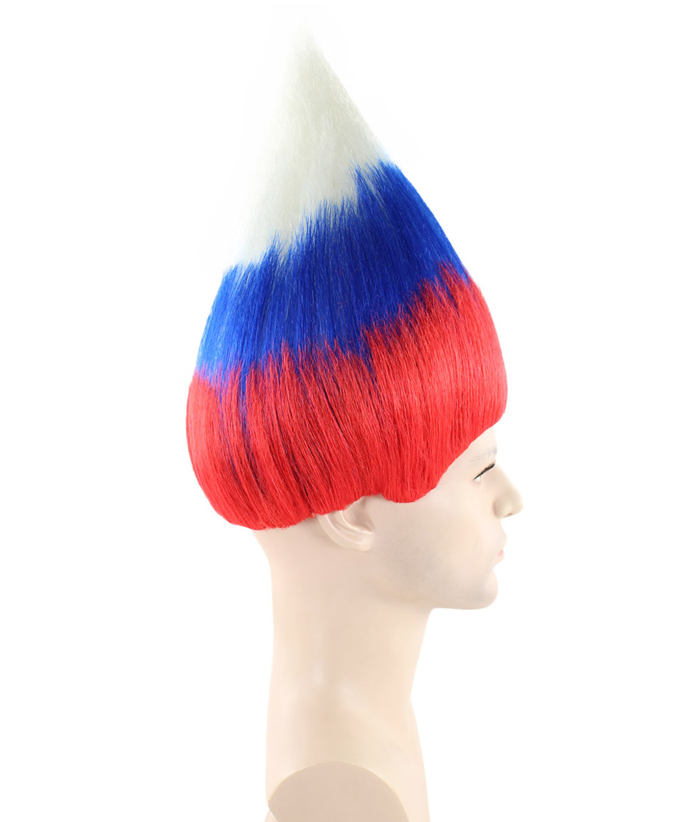 (1-2 Days Dispatch) Russia National Flag Troll Wig, HM-158