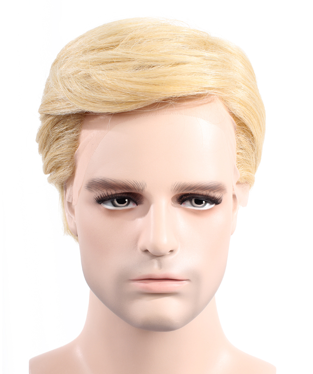 EXCLUSIVE! Wig for President Trump II High Heat Resistant Fiber Lace Front Style HM-169