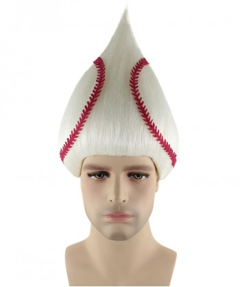 Halloween Party Costume Baseball Troll Wig HM-212