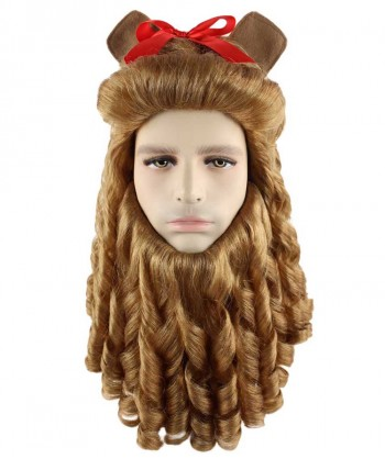 Halloween Party Costume Wig for Cosplay Cowardly Lion HM-245