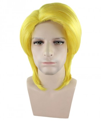 Halloween Party Costume Tokyo Style Yellow Wig HM-265