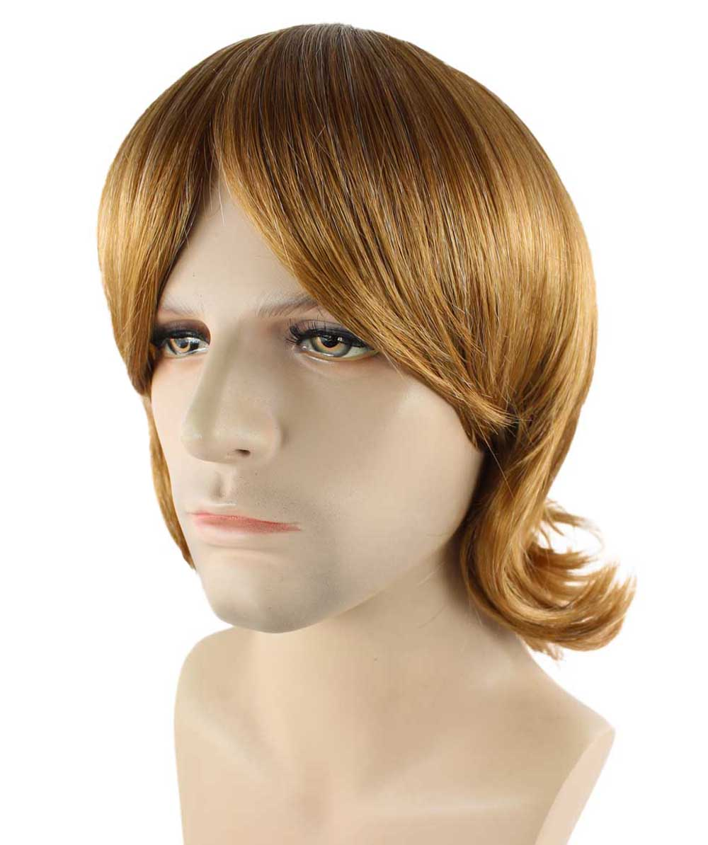 70's Brown Shag Wig HM-276