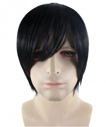 Halloween Party Costume Wig for Cosplay Attack on Titan Eren HM-284