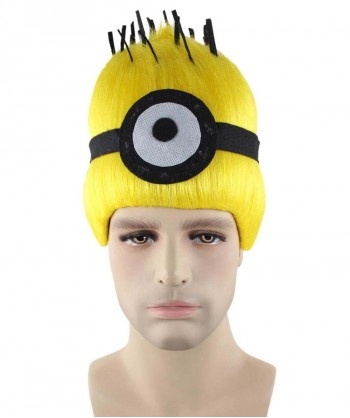 Halloween Party Costume Wig for Cosplay Minions Carl HM-333