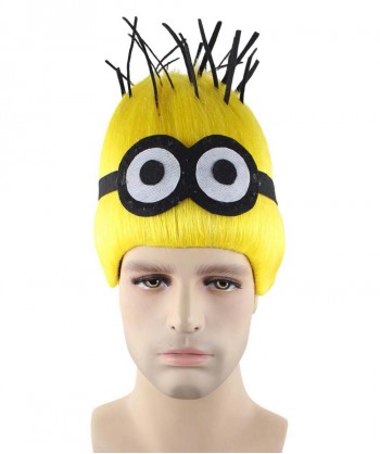 Halloween Party Costume Wig for Cosplay Minions Dave HM-334
