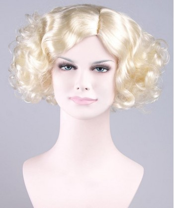 Halloween Party Costume Wig for Actress Monroe I HW-001